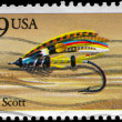 USA - CIRCA 1991 Jock Scott — Stock fotografie