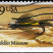 USA - CIRCA 1991 Muddler Minnow — Stock Photo