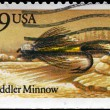 USA - CIRCA 1991 Muddler Minnow — Stock Photo #11079425