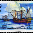 USA - CIRCA 1993 Columbus Landing - Stock Photo