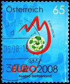áustria - cerca de campeonato europeu de futebol 2008 — Fotografia Stock