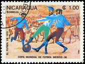 ニカラグア - 1985年進化サッカーの年頃 — ストック写真