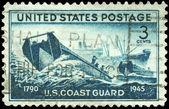USA - CIRCA 1945 Coast Guard — Stock Photo