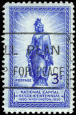 USA - CIRCA 1950 Statue of Freedom — Stock Photo