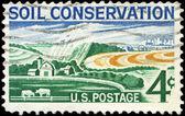 USA - CIRCA 1959 Modern Farm — Stock Photo