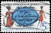 Usa - ok. 1966 kobiet — Zdjęcie stockowe