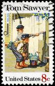 USA - CIRCA 1972 Tom Sawyer — Stock Photo