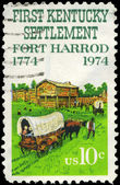 USA - CIRCA 1974 Fort Harrod — Stock Photo