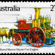 Stock Photo: AUSTRALIA - CIRCA 1983 Shand Mason Steam
