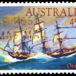 AUSTRALIA - CIRCA 1984 Orient — Stock Photo