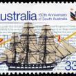 AUSTRALIA - CIRCA 1986 Sailing Ship — Stock Photo