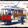 AUSTRALIA - CIRCA 1989 Combination Electric Tram - Stock Photo