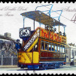 AUSTRALIA - CIRCA 1989 Double-deck Electric Tram - Stock Photo