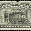 Royalty-Free Stock Photo: USA - CIRCA 1925 Post Office Truck