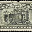 USA - CIRCA 1925 Post Office Truck — Stock Photo