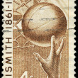 USA - CIRCA 1961 Basketball - Stock fotografie