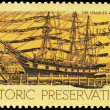 Stock Photo: US- CIRC1971 Whaling Ship