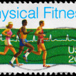 Stock Photo: US- CIRC1983 Physical Fitness