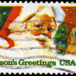 USA - CIRCA 1983 Seasons Greetings — Stock Photo