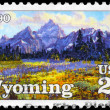 USA - CIRCA 1990 Wyoming - Stock Photo