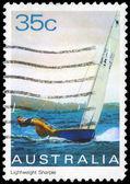 澳大利亚-大约 1981年轻量级刻 — 图库照片