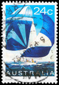 Austrália - cerca de 1981 racer de oceano — Foto Stock