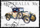 Australië - circa 1984 australische zes — Stockfoto