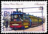Austrálie - cca 1989 parní tramvaj — Stock fotografie