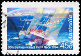 AUSTRALIA - CIRCA 1994 Yacht Race — Stock Photo