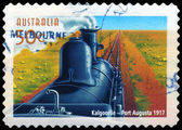 AUSTRALIA - CIRCA 2004 Kalgoorlie to Port Augusta line — Stock Photo