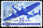 USA - CIRCA 1941 Plane — Stock Photo