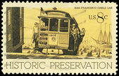 USA - CIRCA 1971 Cable Car — Stock Photo