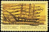 USA - CIRCA 1971 Whaling Ship — Stock Photo