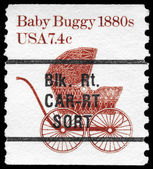 USA - CIRCA 1981 Baby Buggy — Stock Photo
