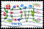 USA - CIRCA 1982 Flowers — Stock Photo
