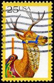 USA - CIRCA 1988 Deer — Stock Photo