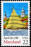 USA - CIRCA 1988 Maryland — Stock Photo