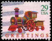 USA - CIRCA 1992 Locomotive — Stock Photo