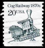 USA - CIRCA 1995 Cog Railway — Stock Photo