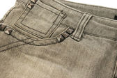 Gray jeans — Stock Photo