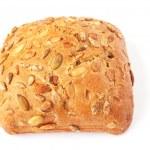 Bread on white — Stock Photo #10758432