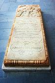 Grave at Apostolic ncient church in Armenia — Stock Photo
