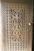 Khor Virap monastery door — Stock Photo
