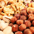 Nuts background — Foto de Stock