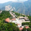 Mountain village view from altitude — Stock Photo #10782136