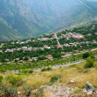 Mountain village view from altitude — Stock Photo #10783539