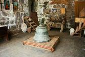 Antica campana nel monastero di tatev — Foto Stock