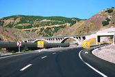 Mountain road in Turkey — Stock Photo