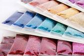 Nail glitters — Stock Photo