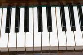 Tasti del pianoforte — Foto Stock